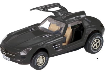 Darda Mercedes SLS Amg zwart